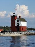 Round Island Light Royalty Free Stock Image
