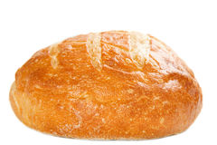 Round Italian Loaf Royalty Free Stock Photography