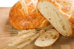 Round Italian Loaf Royalty Free Stock Photos