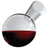 Round jug of wine Royalty Free Stock Photos