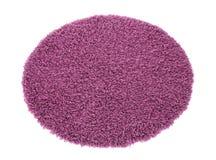 Round koloru dywan obraz stock