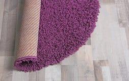Round koloru dywan zdjęcie royalty free