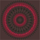 Round kwiatu tło Obraz Stock