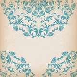 Round lace card Royalty Free Stock Image