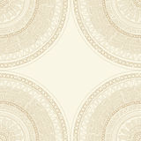 Round lace mandala Stock Photo