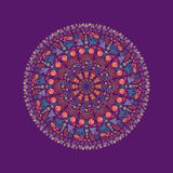 Round Lace Ornament Royalty Free Stock Photos