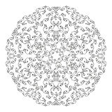 Round lace Stock Photos