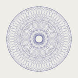 Round lace ornament Royalty Free Stock Images