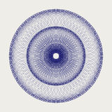 Round lace ornament. Design of a round lace ornament Stock Photography