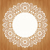 Round lace Royalty Free Stock Image