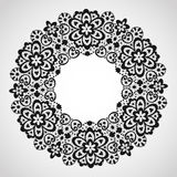 Round lace Royalty Free Stock Photography
