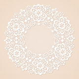 Round lace Royalty Free Stock Photo