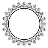 Round lace. Ornaments Vintage background illustration royalty free illustration