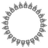 Round lace Stock Image