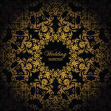 Round lace pattern Royalty Free Stock Photo