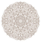 Round lace pattern Royalty Free Stock Image