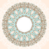 Round lacy pattern Royalty Free Stock Images
