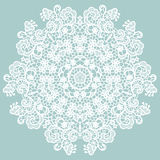 Round lacy doily. Stock Images