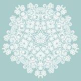 Round lacy doily. Royalty Free Stock Photos
