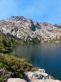 Round Lake. Lakes Basin region of the Northern Sierra Nevada mountains Stock Images