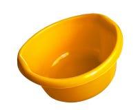 Round Laundry Wash Basin Plastic Stock Photography