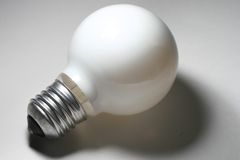 Round Light Bulb Stock Images