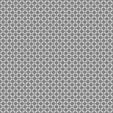 Round linear style links seamless pattern background texture. White and gray colors Stock Images
