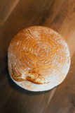 Round loaf Stock Images