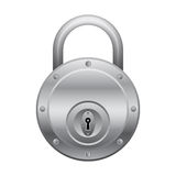 Round lock Royalty Free Stock Images