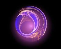 Round logo shape Stock Image