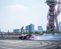 Round 1-London British Drift GP Royalty Free Stock Photography