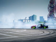Round 1-London British Drift GP Royalty Free Stock Image