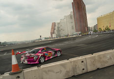Round 1-London British Drift GP Stock Photography