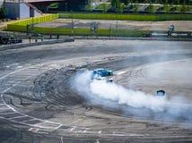 Round 1-London British Drift GP Stock Photo