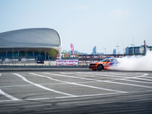 Round 1-London British Drift GP Royalty Free Stock Images