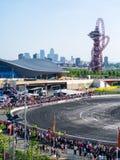 Round 1-London British Drift GP Royalty Free Stock Image
