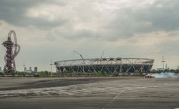 Round 1-London British Drift GP Stock Photography