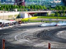 Round 1-London British Drift GP Royalty Free Stock Photos