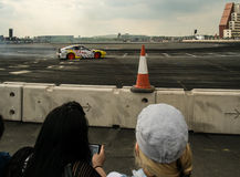 Round 1-London Brytyjski dryfu GP Zdjęcia Royalty Free