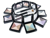 Round of makeup. Royalty Free Stock Photos