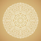 Round mandala kaleidoscopic ornamental background Stock Photography