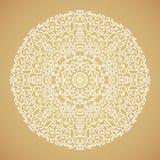 Round mandala kaleidoscopic ornamental background Stock Photography