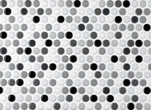 Round marble textures, ball tiles Stock Image