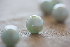 Round marbles Royalty Free Stock Photos