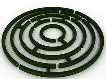 Round a maze of green  №2 Royalty Free Stock Image