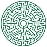 Round maze Stock Images