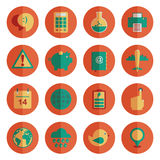 Round media icons Royalty Free Stock Photography