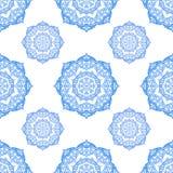 Round mehndi pattern Royalty Free Stock Images