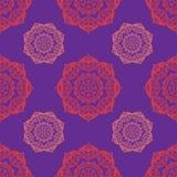 Round mehndi pattern Royalty Free Stock Image
