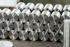 Round metal bars Royalty Free Stock Photography